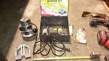 Vintage Rare Black & Decker Handyman Builders router kit attachments bits trim