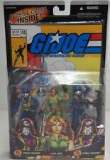 "GI JOE Lady Jaye Cobra Trooper 25th Anniversary Comic Pack #44 Marvel 3.75"" MIP"