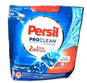 1 Persil ProClean 2 In 1 Stain Fighter Pro Lift Clean 15 Power Caps Detergent