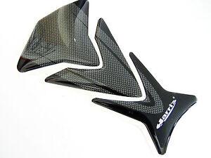 Universal Motorcycle Harri's Puzzle Gel Tank Pad Protector Ariete Carbon