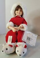 Vintage Telco Santa Child Kid Christmas Electric Animated Motionette