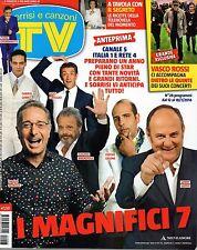 Sorrisi 2014 28.Paolo Bonolis,Luca Argentero,Vasco Rossi,Nino Frassica,Amadeus