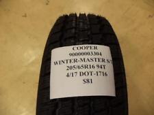 1 NEW COOPER WINTER-MASTER S/T2 205/65R16 94T 90000003304