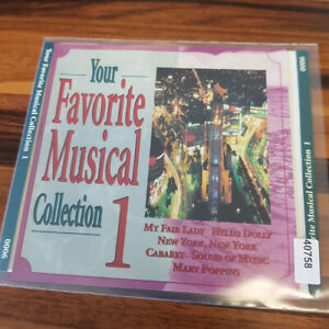 VARIOUS : Your Favorite Musical Collection 1    > VG+ (CD)