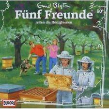 """FÜNF FREUNDE """"RETTET DIE HONIGBIENEN (FOLGE 90)"""" CD NEU"""