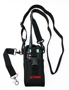 X-FIRE® Radio Strap Firefighter EMS EMT Shoulder Holder Duty Holster Belt Combo