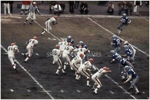 Browns vs. Cowboys 1968 Divisional Playoff Game Photo/Poster (comes in 4 sizes)