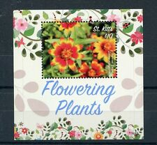 St Kitts 2016 MNH Flowering Plants 1v S/S Persian Carpet Flowers Stamps