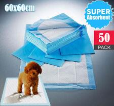 50pcs New Puppy Pet Dog Indoor Cat Toilet Training Pads Super Absorbent 60x60cm