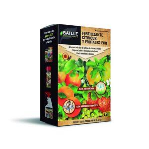 Engrais / Fertilisant pour Agrumes et Fruits Eco Pellet Batlle (2,5kg)