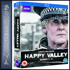 HAPPY VALLEY - COMPLETE SERIES 1 & 2  *BRAND NEW BLURAY BOXSET *