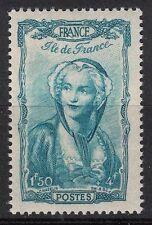 FRANCE TIMBRE  N° 595 **  COIFFES REGION ILE DE FRANCE