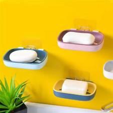 Bathroom Free Punching Soap Rack Holder Shower Hygienic Stick Tray Bath Box FB