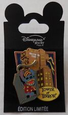 Disney DLRP Walt Disney Studios Invasion Series Stitch Tower of Terror Pin Le