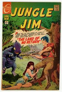 JERRY WEIST ESTATE: JUNGLE JIM #23 (Charlton 1969) FN NO RES