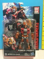 Transformers Power of the Primes Wreck-gar 💥SHIPS WORLDWIDE💥