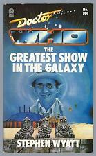 Doctor Who The Greatest Show In The Galaxy Dual Signed Target Paperback Good