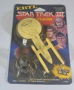 Star Trek III Search For Spock USS Excelsior ERTL Die-Cast 1985