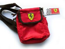 Scuderia F1 Ferrari Shoulder Document Messenger Bag Small Crossbody  Rare BNWT