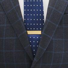 Izola Men's Brass-Plated Tie Clip - Blank - 2 inch