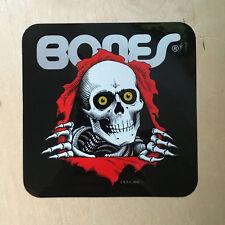 Bones Powell Peralta ripper skeleton skateboard sticker vinyl skull Skate One