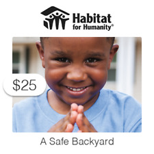 $25 Charitable Donation For: A Safe Backyard