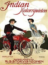 Amsterdam holland vintage bike Art Silk Poster 12x18 24x36
