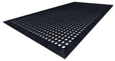 Industrial Rubber Non Slip Safety Floor Mat 1524mm X 914mm X 12mm Thick
