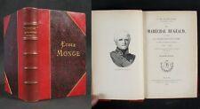 Le Maréchal BUGEAUD par le Comte H. d'IDEVILLE / Firmin-Didot éditeur 1885
