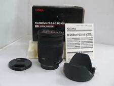 Sigma - 18-250mm F3.5-6.3 - Auto Focus Lens for Pentax