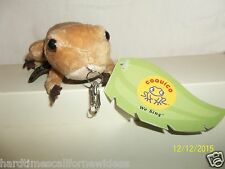 COQUICO FROG PLUSH KEY CHAIN WITH TAG