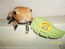 Coquico Frog Plush Key Chain With Tag