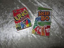 Kartenspiel UNO und Skip.Bo