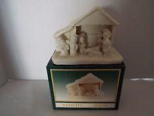 White Jade Porcelain Nativity Scene