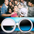 Selfie Flash LED  Camera Photography Ring Light For IPhone Android Universal HTC
