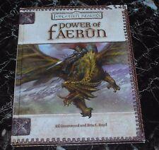 D&D 3.5 Power of Faerun D20 Forgotten Realms Dungeons & Dragons