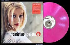 CHRISTINA AGUILERA Self Titled LP on PINK VINYL Sealed NEW /2000