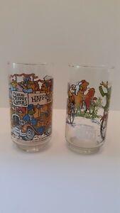 2  1981 The Great Muppet Caper McDonalds glasses