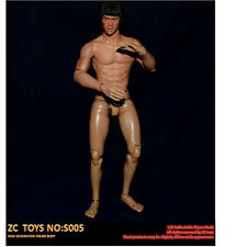 ZC Toys 1/6 Scale Asian Muscle Body S005 For Bruce Lee Head Sculpt