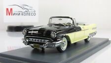 Scale model car 1:43 PONTIAC Star Chief Convertible Black, Yellow 1956