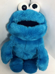 Vintage 1986 Cookie Monster full body hand puppet Playskool Sesame Street