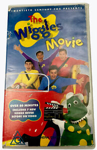 The Wiggles Movie VHS Video Cassette Tape PAL G 1998
