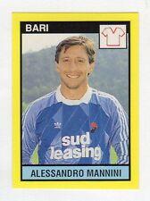 figurina IL GRANDE CALCIO VALLARDI 1988/89 NUMERO 343 BARI MANNINI