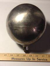 """6"""" VTG Aluminum Ball BALLAST FLOAT Lightning Rod Weathervane Flag PoleTOPPER  ?"""