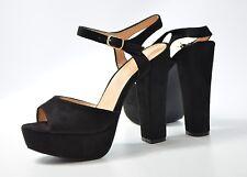 KAYLA Sandalen Gr. 37 High Heels, Plateau, Leder Look, Damen Schuhe 7/18 M2