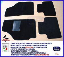 Velluto Logo Edition Tappetini per FIAT GRANDE PUNTO 199 dal anno 10//2005