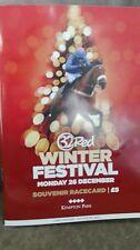 Kempton Race Card, December 26Th, 2016 - The King George & Thistlecrack