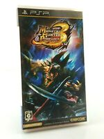 Monster Hunter Portable 3rd - Jeu Sony PSP JAP Japan complet