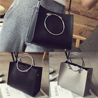 Fashion Womens Hobo Leather Shoulder Bag Messenger Purse Satchel Tote Handbag 2