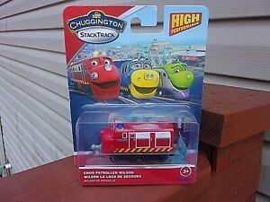 Chuggington Stack Track - Chug Patroller Wilson - New in Package